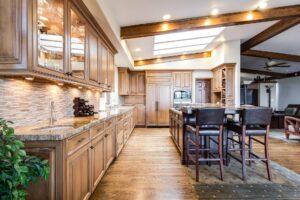 cuisine maison bois